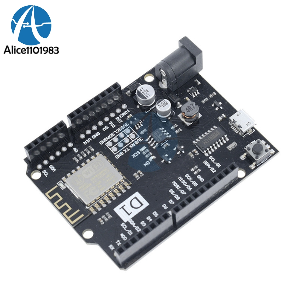 Power Supply Wifi Uno Based Esp8266 Board For Wemos D1 R2 Regulator Mini 9v 075a By Transistor Electronic Package Included 1 X V210 Arduino Nodemcu Compatible
