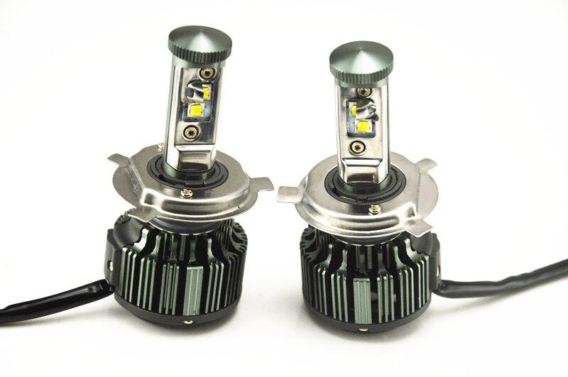H4 Led Headlight Cars High Low Beam 80W Fog Light Kit LED Lamp Xenon Car-Styling H13 H7 LED Bulbs For Cars Pure White H1 H3 H11