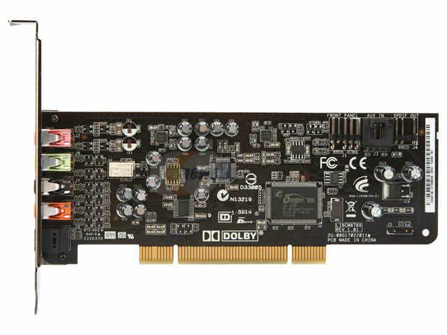 (בשימוש) מקורי עבור XONAR DG PCI 5.1 כרטיס קול, 100% נבדק טוב!