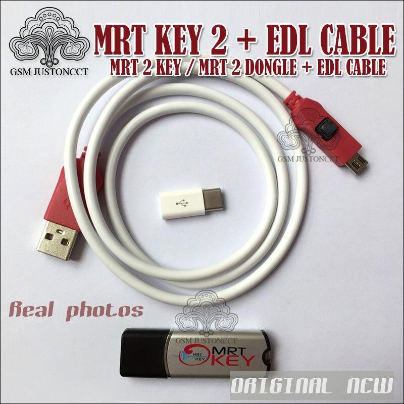 NOUVEAU MRT CLÉ 2/mrt outil 2 boîte/mrt 2 dongle et edl câble pour xiaomi9008 câble Pour coolpad hongmi déverrouiller compte ou enlever...