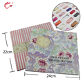 1pc Nail Art Salon Gel Polish Display Cards Book Tools Color Board Chart With Tips Flower Pattern Nail Art Color Chart