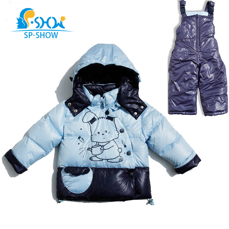 SP-SHOW Winter Childrens Outwear And Turtleneck Jacket Boy And Girl Coats Boy Girl Clothing Sets Down And Parkas For 1-4 0255SP-SHOW Winter Childrens Outwear And Turtleneck Jacket Boy And Girl Coats Boy Girl Clothing Sets Down And Parkas For 1-4 0255