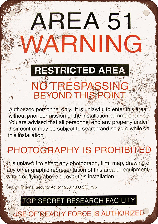 Редуктор Area 51 Предупреждение Dodgers Dood это Винтаж металла Признаки Бар плакат Домашний декор для Кофе и магазин Размеры: 20*30 см