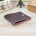 new 2017 Men Wallet women leather Wallets Purses creative contracted thin students short wallet purse
