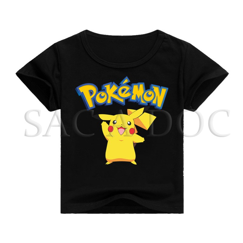 Kids T Shirt Pokemon Pikachu 3D Print T-shirt Children Clothing Baby Boys Girls Hip Hop Tee Shirts Kids Short Sleeve Tops image