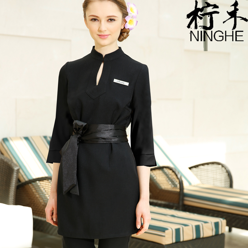 Online buy wholesale massage clothes from china massage for Spa uniform wholesale