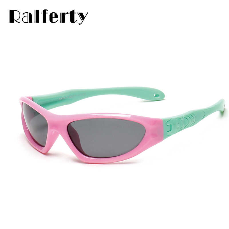 17c6f511135 Ralferty Infant Baby Sunglass TAC Polarized Kids Sunglasses Child Coating Sun  Glasses Girls Boys Sport Goggles