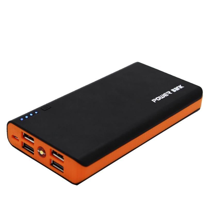 2.1a 4usb power bank caso 6x18650 carregador de bateria caixa diy caso kit para o telefone novo mar 9