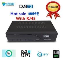 Vmade новые DVB-T2 цифровой ТВ приёмник, поддерживает H.265 Wi-Fi YouTube DVB-T2 приемник распродажа, товар из Европы DVB-T ресивера