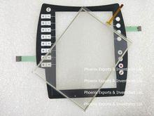 แบรนด์ใหม่หน้าจอสัมผัสDigitizerและปุ่มกดปุ่มสำหรับkuka C4 00 168 334สัมผัสแผงกระจก
