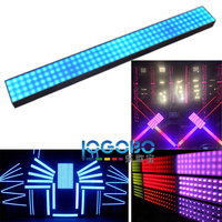 Nice LED Dream Bar Strip Light SMD 5050 RGB Dance Light Art Net & Kling Net & DMX Control Milky Frosted Clean Covers for Choice