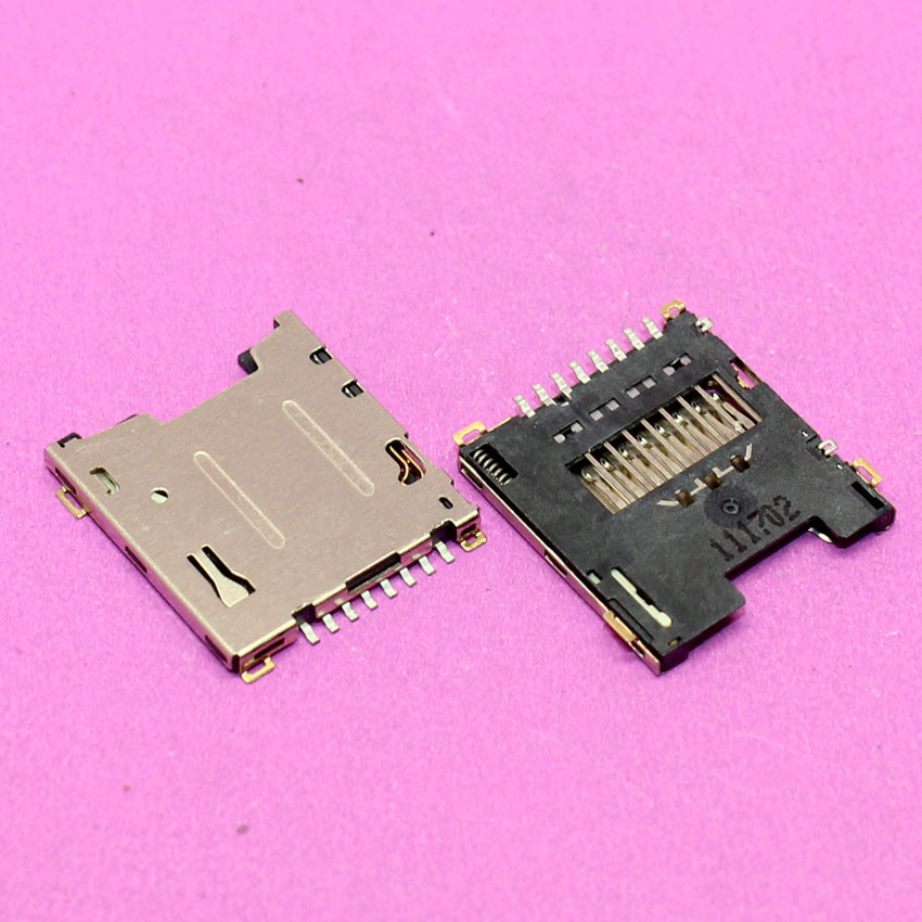 YuXi Brand new Sim card reader holder tray slot adapters for HTC G6 G7 A6188 G2 MY TOUCH 4G TF card socket connector