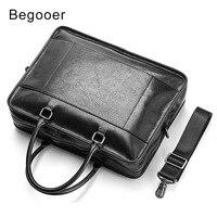 Большой Ёмкость человек Портфели из натуральной кожи Для мужчин Бизнес сумочку мужского плеча Laoptop мешок известный Брендовая дизайнерская