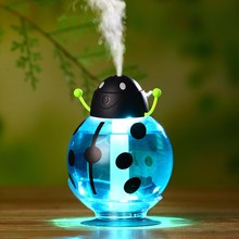 GX02-8,New Beatles Ultrasonic Humidifier USB Car Humidifier Min Aroma Essential Oil Diffuser Aromatherapy Mist Maker Home Office