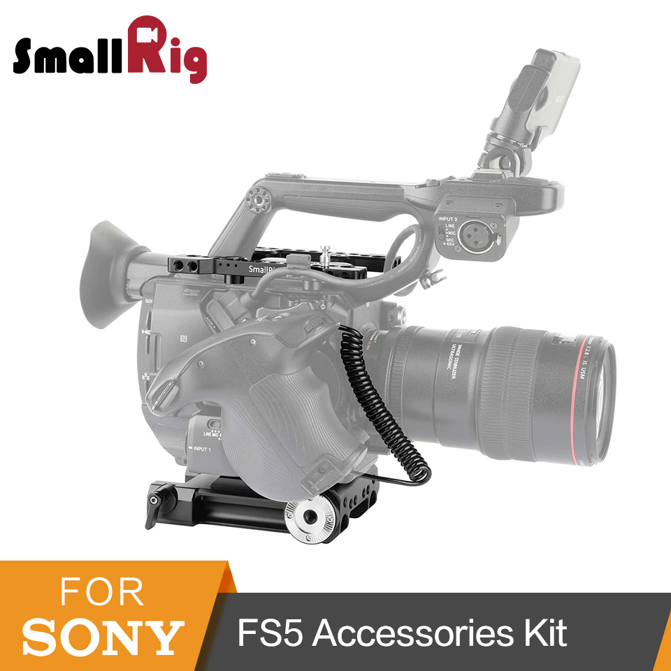 SmallRig Camera Accessories Rig Kit for font b Sony b font FS5 PXW FS5 with Top