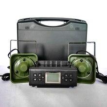 Dispositivo de sonido para trampa de llamador de pájaros, dispositivo electrónico para señuelos de caza, con 200 de voz integrada, 2x50W, 150dB, artículos de caza