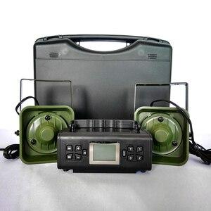Image 1 - Dispositivo de sonido para trampa de llamador de pájaros, dispositivo electrónico para señuelos de caza, con 200 de voz integrada, 2x50W, 150dB, artículos de caza