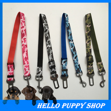 Adjustable Pet Cat Dog Car Safety Belt Collars Pet Restraint Lead Leash travel Clip Car Safety