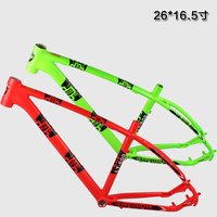 26x16.5inch Aluminum Alloy bike frame mountain bicycle frameset bicicletas MTB mountain bike frame
