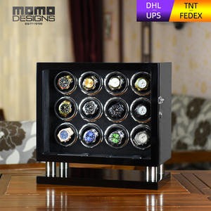 Wristwatch Box Watch Winder Automatic with Mabuchi Motor Black Gear Mabuchi motor/Automatic/Watch display/Tpd