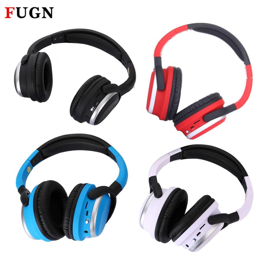 FUGN Original Running Sport Wireless Earphone Headphone MIC TF Card Radio MP3 Hifi Bluetooth Headset Noise Cancelling for Phone