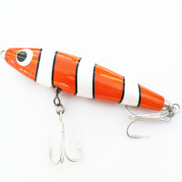 Ufishing Big Game Fishing Lure 15cm 56g Handmade Popper Bait High Quality Wood Sea Fishing Lures 1 Pcs/Lot