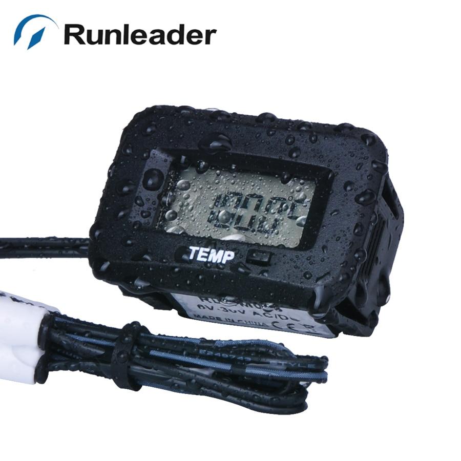 DigitaL Oil Tank RL TS002 PT100 20 250 C temp sensor thermometer for motorcycle chipper dirt