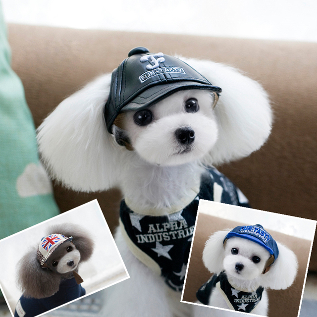 Lovely Pet Dog Cap baseball Hat For pet Puppy dog Teddy party cowboy  costume hat pet 14e36eae0543