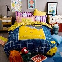 KELUO Luxury Bedding Set Duvet Cover Bedclothes Print Bedding Sets Shark American Style 3 4PCS AU