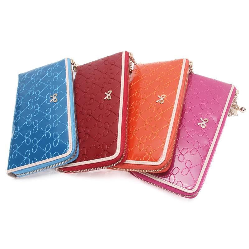 Жени случайни съединител патент кожа - Дамски чанти - Снимка 5