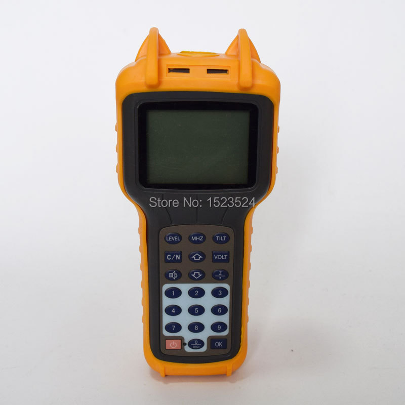 Free Shipping RY-S110 CATV Cable TV Handle Analog Signal Level Meter DB Tester 46~870MHz