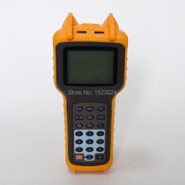 Frete Grátis RY-S110 CATV TV Cabo Handle Medidor De Nível de Sinal Digital DB Tester 46 ~ 870 MHz