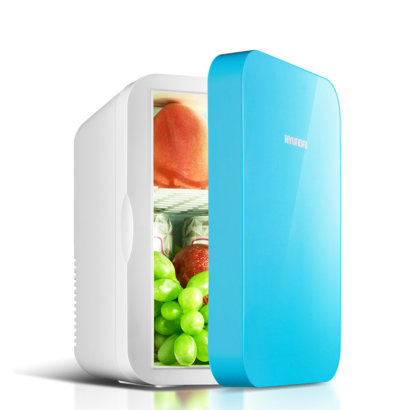6L Car Home Dual-use Cooler Warmer Box Small Refrigerator Mini Portable Fridge Camping Dormitory Car Freezer Electrical Cooler