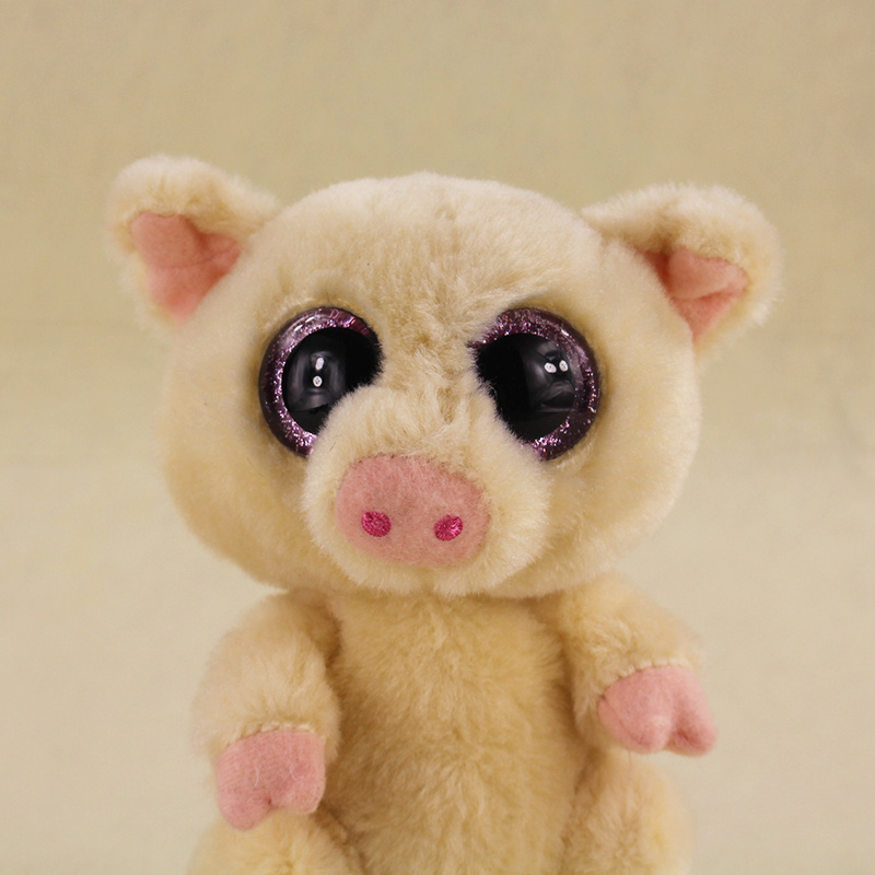 15cm Ty Beanie Boos Big Eyes Pggley the Pig Stuffed Animal Corky Pig Plush  Doll for Children-in Movies   TV from Toys   Hobbies on Aliexpress.com  572d775c9303