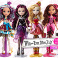 4pcs/lot joints Monsters Highs Doll, Genuine Dolls, Monsters Hight Toys