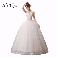 Free Shipping 2015 New Cheap Wedding Gown White Lace Romantic Wedding Dress Bride Wedding Dresses Price