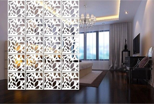 4 TEILE/LOS Plexiglas Geschnitzte Tafeln Hängen Bildschirm Mode Wohnzimmer  Hohl Hängen Partition Vorhang Chinesischen