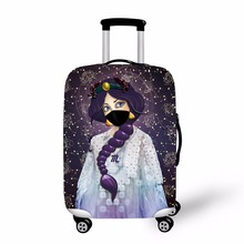 ONE2 2017 new design personalized luggage covers with twelve constellations 18-30 inch for men and women luggage cover protector