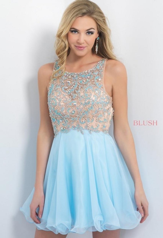 High Quality Short Light Blue Homecoming Dresses-Buy Cheap Short ...