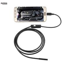 3.5 M Android endoscopio OTG teléfono 7 mm lente de inspección de tuberías, IP67 a prueba de agua los espejos laterales 130 W 720 P HD cámara micro USB