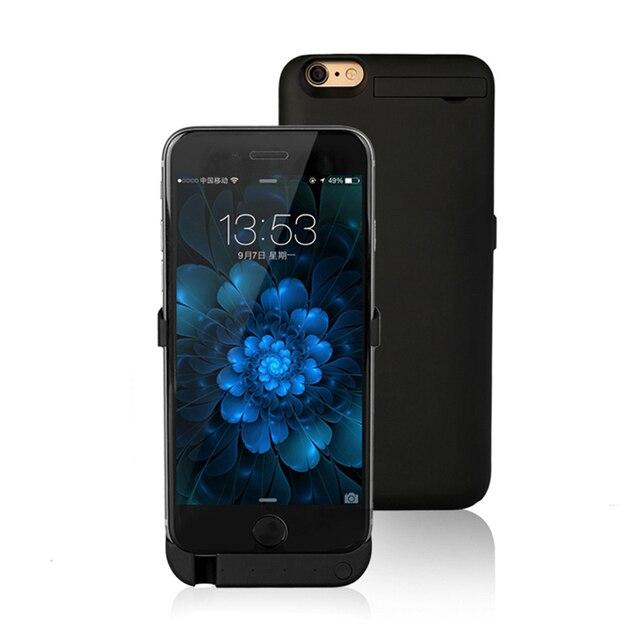 Для Apple 6 6 S 4.7 дюймов Назад Клип Батареи Аккумуляторная Мобильный телефон Чехол для iPhone 6 Обратно Зарядное Устройство Резервного Питания банк