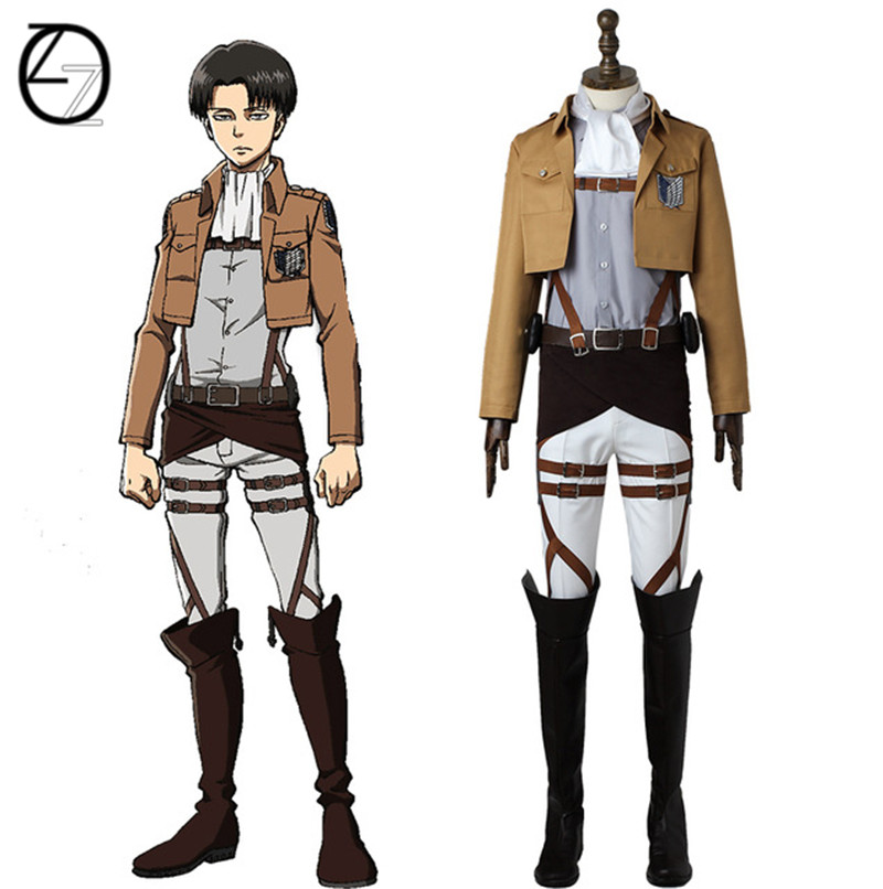 Attack on Titan Cosplay Costume Eren Yeager Cosplay Anime Shingeki no Kyojin Scout Legion Costume Halloween Custom Made Adult стоимость