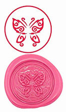 Butterfly Custom Logo Luxury Vintage Wax Seal Stamps Kit Wedding Invitation Sealing Stamps Gift