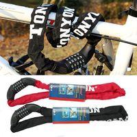 Sıcak satış!! yeni 5-digit Yüksek Kalite Şifre Kilidi Bisiklet Manganez Çelik Zincir 90 cm 2-color Nakliye shippinf