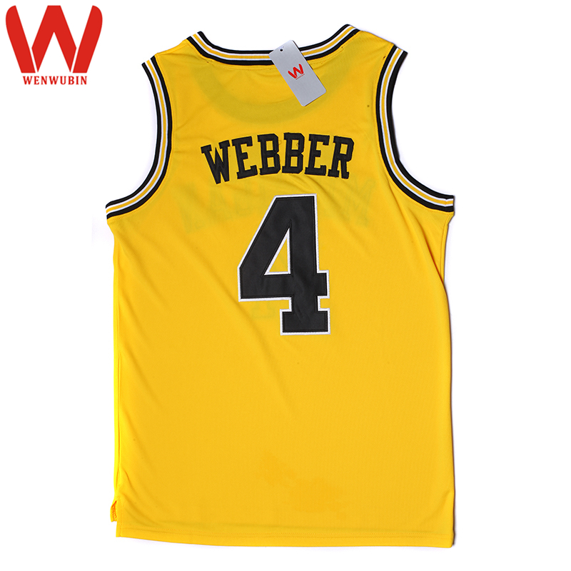 sports shoes 5fae6 f4ded clearance vintage chris webber 4 universirty michigan ...