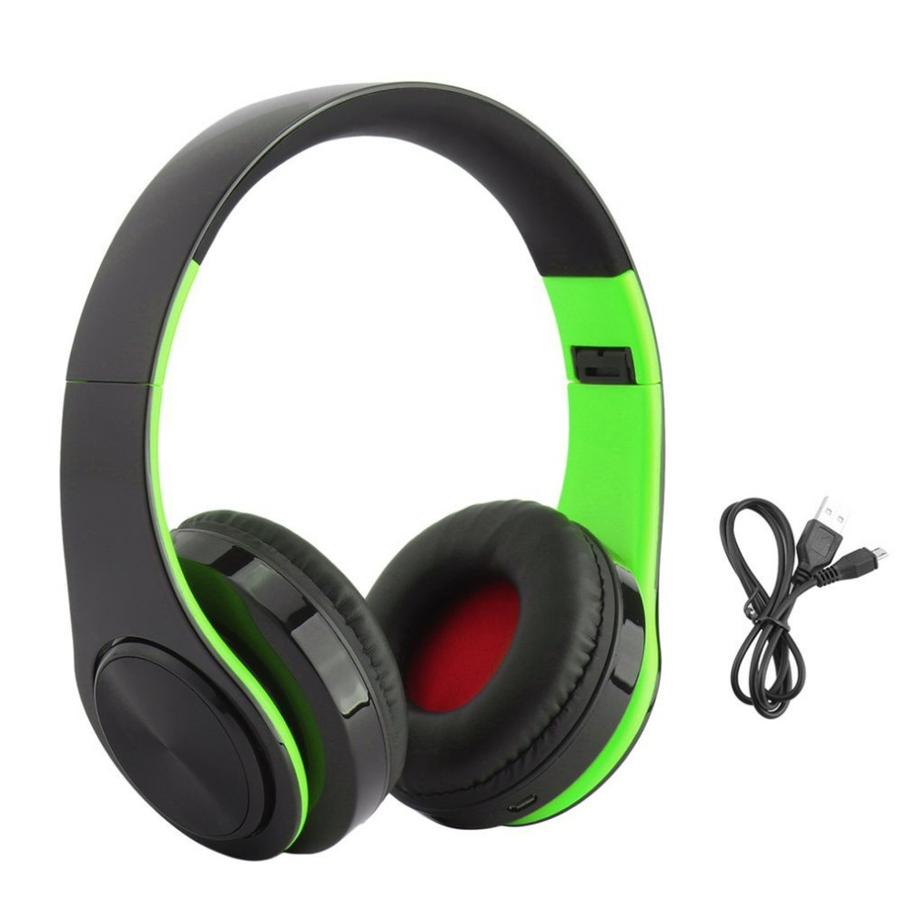 Wireless Bluetooth Headphone Foldable Stereo Headset with Mic Handsfree Call FM Radio Music Earphone Support TF Card For Game bq 618 wireless bluetooth v4 1 edr headset support handsfree earphone with intelligent voice navigation for cellphones tablet