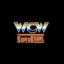 WCW Super Brawl Wrestling 16 bit Big Gray Game Card For USA NTSC Game Player