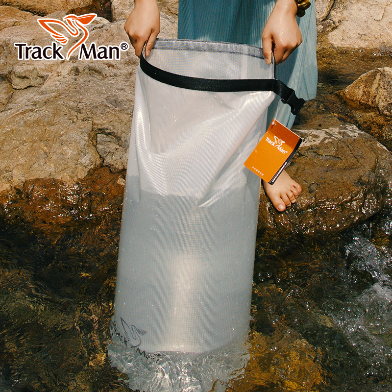 Ultraligero PVC en forma de barril lona Trekking Drifting Seal Rafting Bag Camping Bucket Ocean Pack bolsas impermeables bolsa seca Mochilas de ortopedia para niños 2019, mochilas para niños, mochilas para niños en primaria, mochilas impermeables para niñas y niños, mochilas infantiles