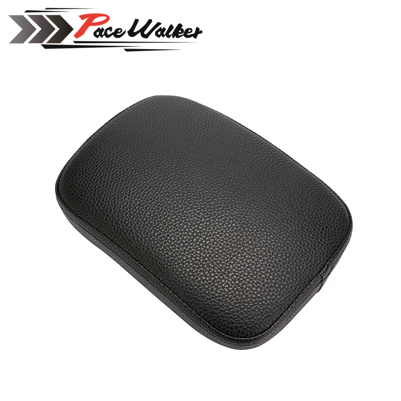 Motorcycle Rear Passenger Cushion 6 Suction Cups Pillion Pad Suction Seat For Dyna Sportster Softail Touring XL 883 1200