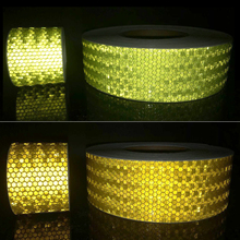 5cmx50m Reflective Material Tape Sticker Automobile Motorcycles Safety Warning Film Car Stickers